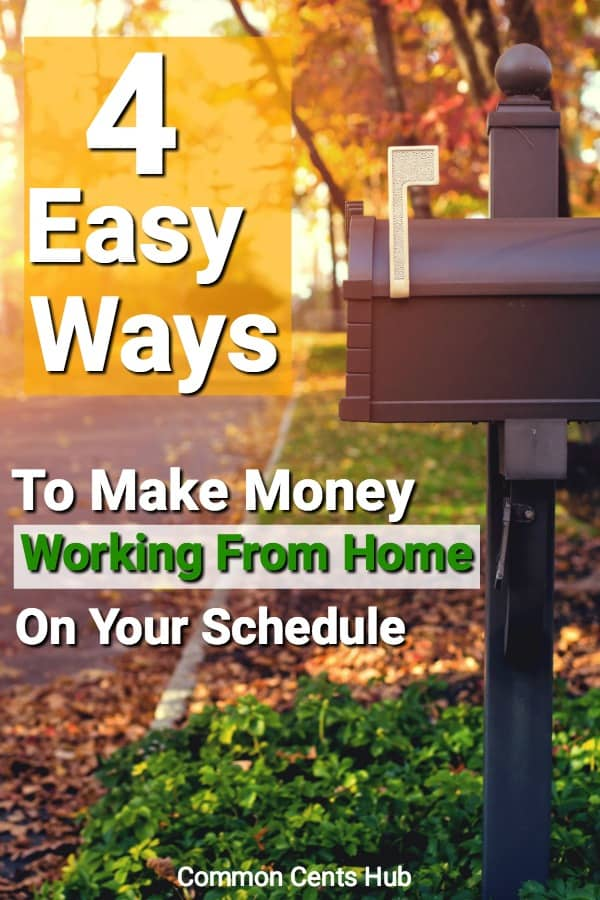 4 Easy ways to make money from home