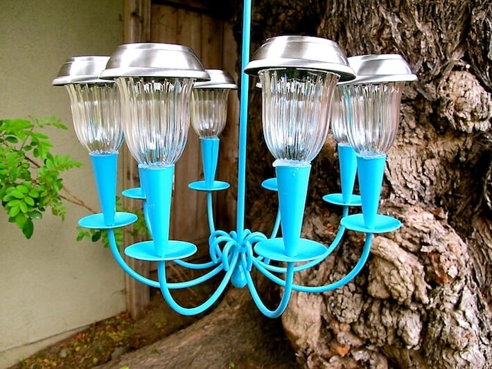 Lighting is one of the best backyard ideas to make a big impact without spending a lot of money.