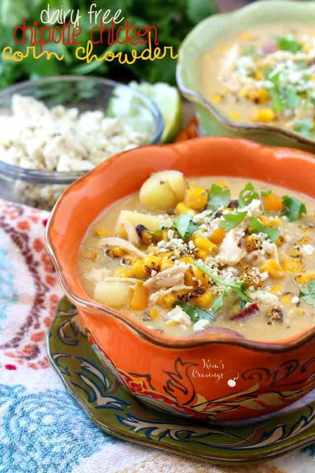 Corn chowder is really flavorful, but usually high in calories. This one is still delicious, but amazingly low calories and high protein.