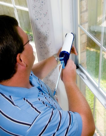 Sealing air leaks will save money on energy costs and will make your home a lot more comfortable.