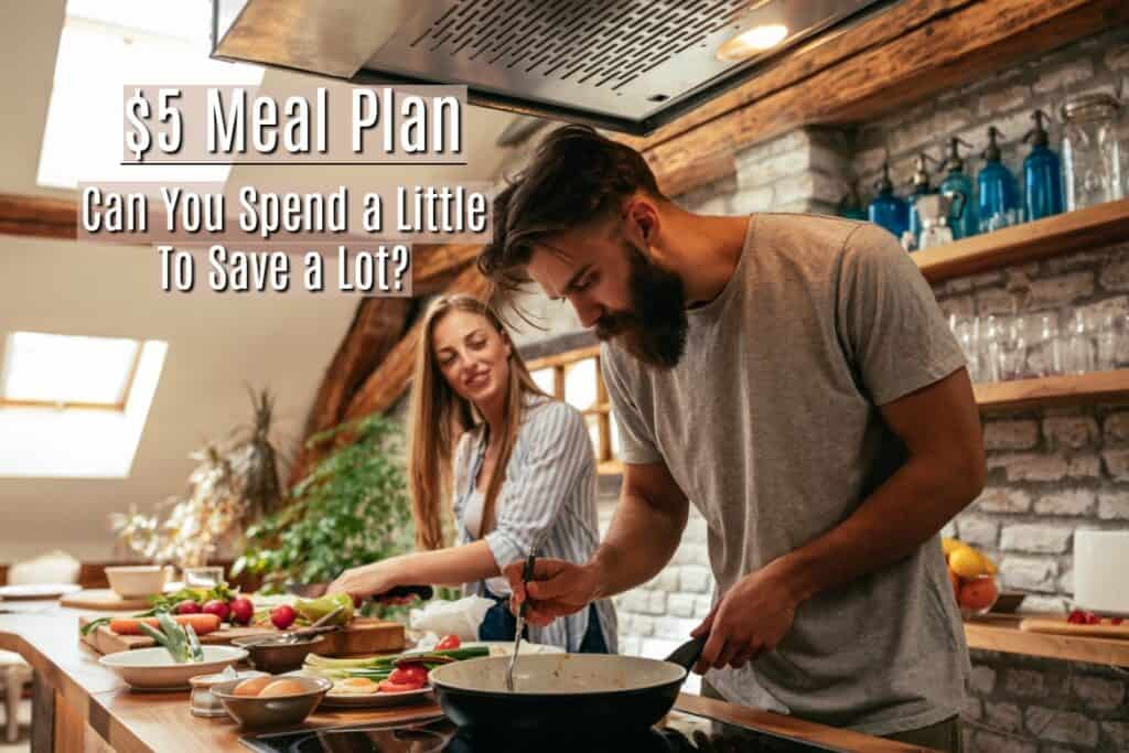 Planning meals can save several hundred dollars each month for the average family. And $5 Dollar Meal Plan makes it about as easy - and cheap as possible.