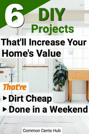 It's surprising how much more curb appeal and value we can add to our home for not much money, and not a big investment of time.