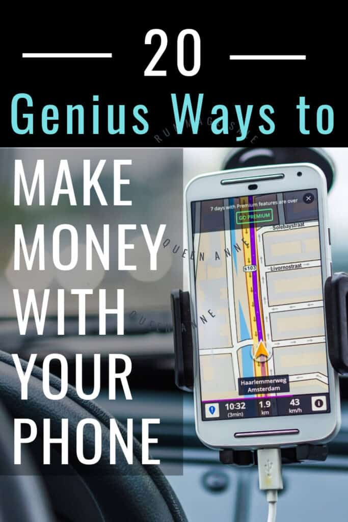 Phones have so much functionality now, that there are many ways to make money with your smartphone.
