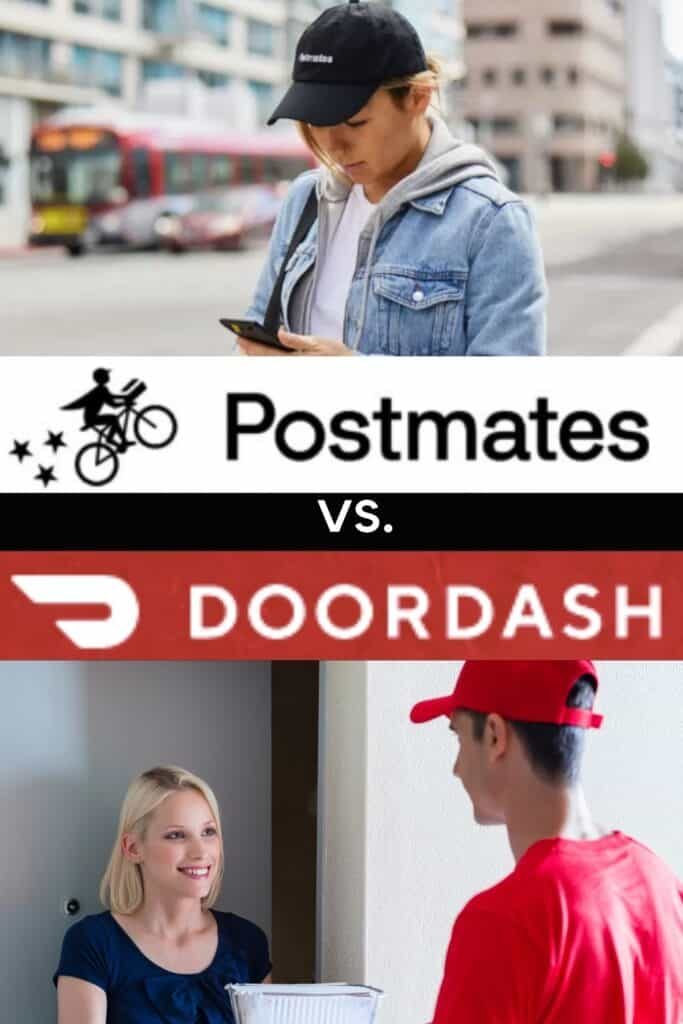 Postmates vs Doordash. Here are the key differences you'll want to know before choosing one.