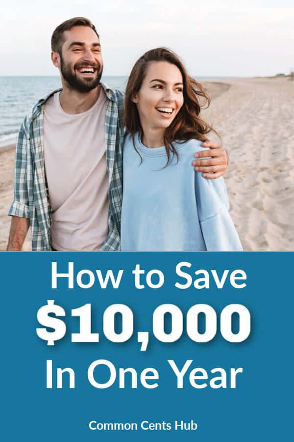 Saving $10,000 in one year is a great goal, because it'll make a difference in your life, but it's still achievable.