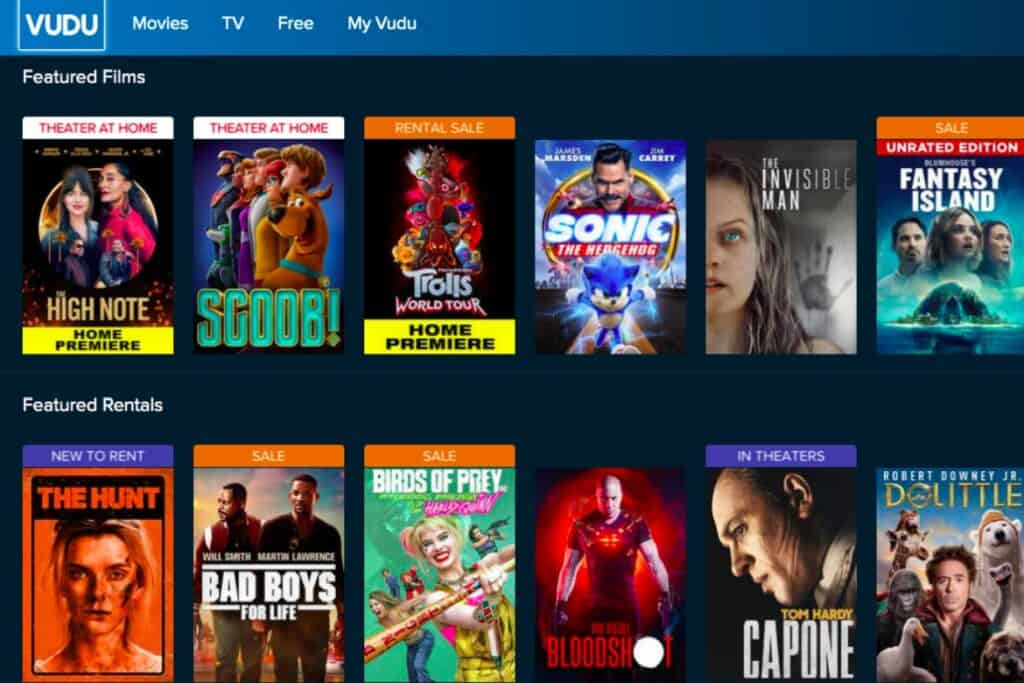 Vudu has a large slection of movies and TV shows and is worth checking out as a cheaper alternative to cable TV.