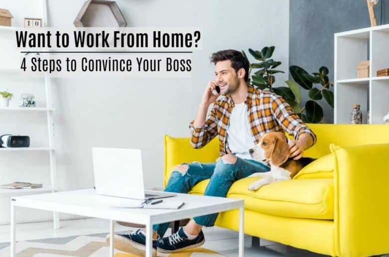 Most companies will permit you to work at home at least part-time, but it's all in the way you ask.