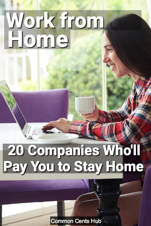 These 20 companies regularly hire employees to work from home.