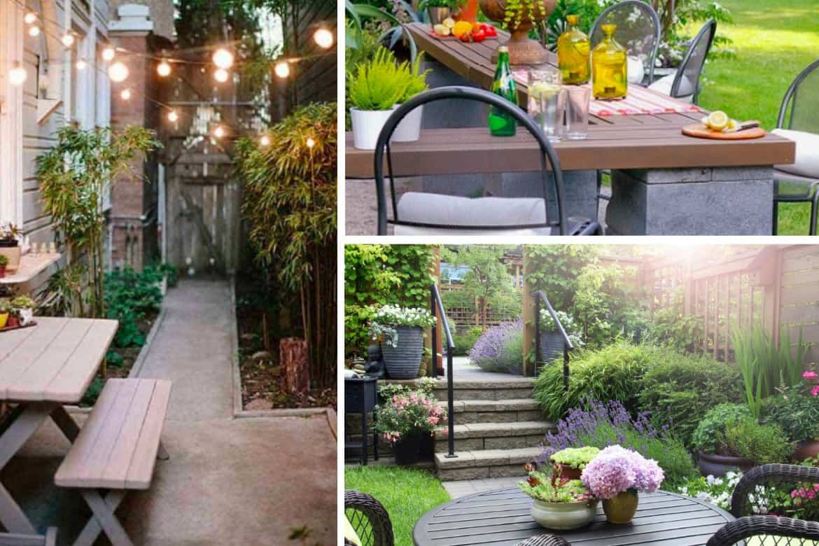 Creating a badass backyard is about having everything you need to be comfortable without going into debt to pay for it.