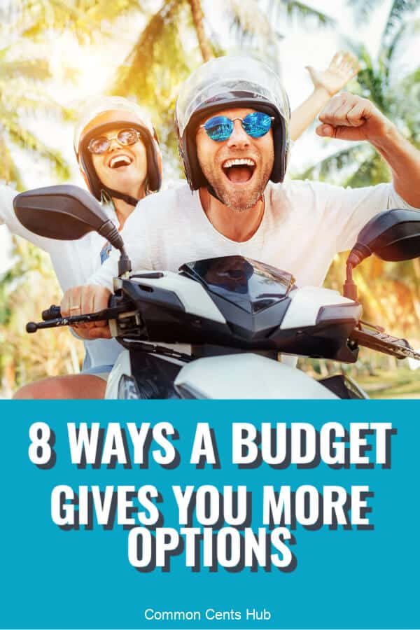 Budgeting can create more choice in life, and enable you to do the things you want.