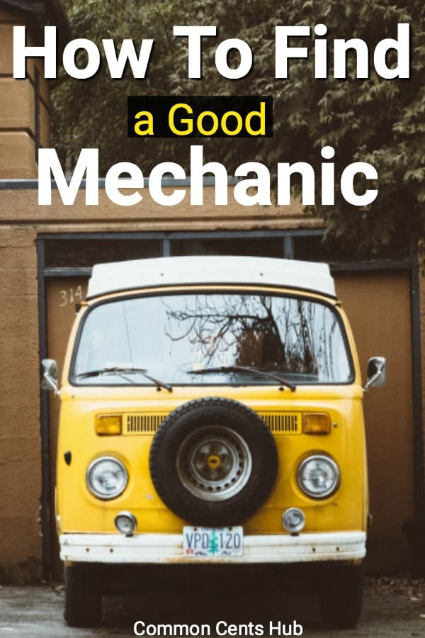 How to find a good mechanic you can trust.