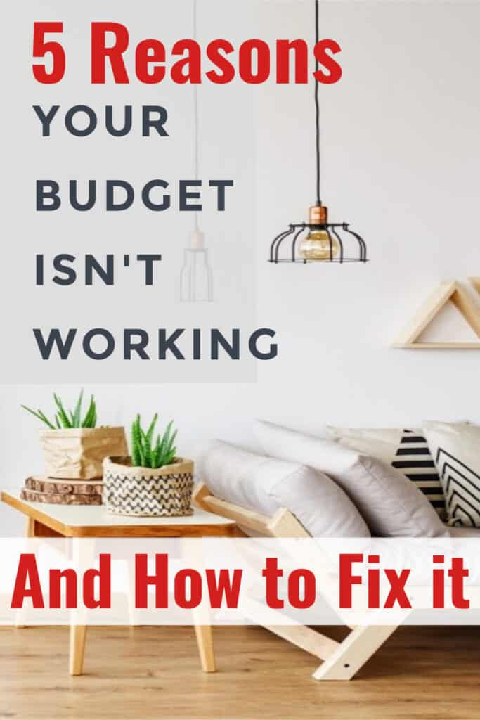 The reason why your budget isn't working is probably an easy fix, and once you do fix it, a lot of doors in your life could start to open.