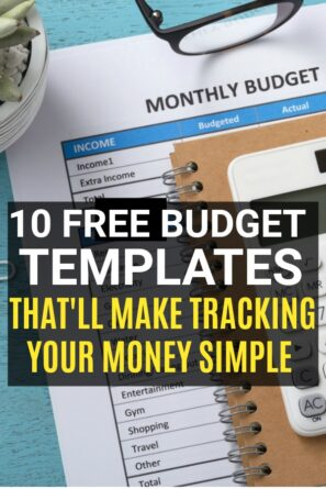A budget template makes managing your money easier, because you can easily compare your spending from month to month and see your progress,