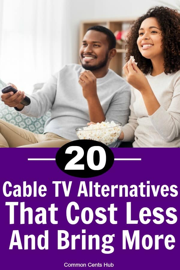 There are plenty of alternatives to cable TV that cost less and deliver the content you want.