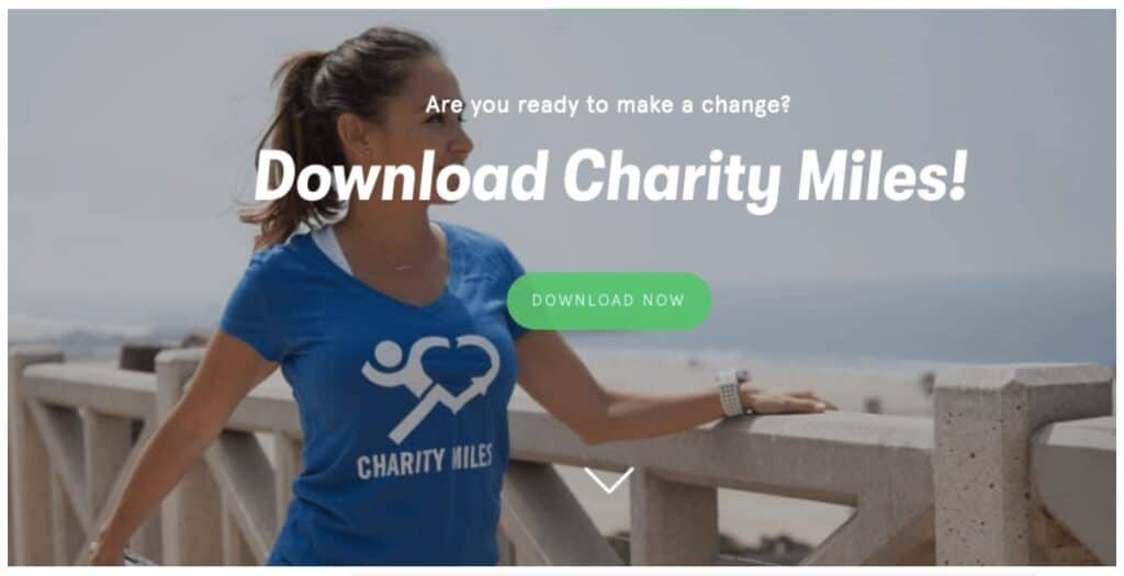 Charity Miles is a great way to make money for walking and donate it to your favorite worthy cause. I like it because you can get paid to walk without needing to find your own sponsors.