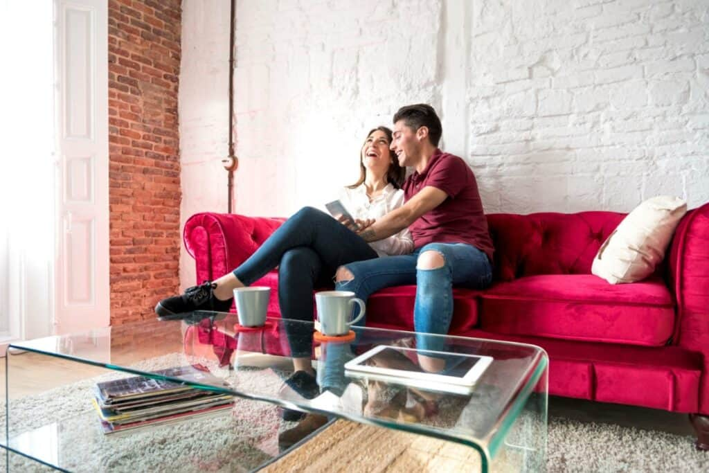 A short, weekly budget meeting is a great way to stay on the same page with your partner, and head off any misunderstandings.