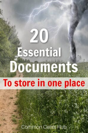 Gathering these essential documents can not only help in an emergency, but save time when you need to reference them.
