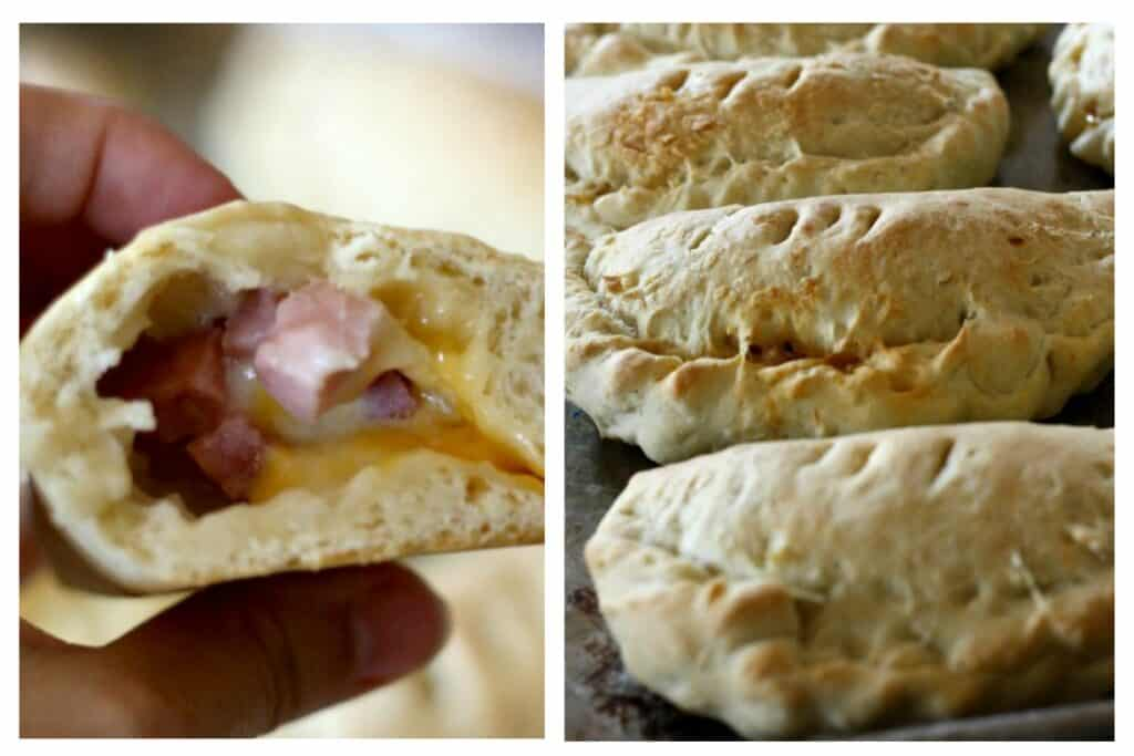 Homemade hot pockets are a great freezer meal for one on those rushed mornings, or they can be a nice brown bag lunch.