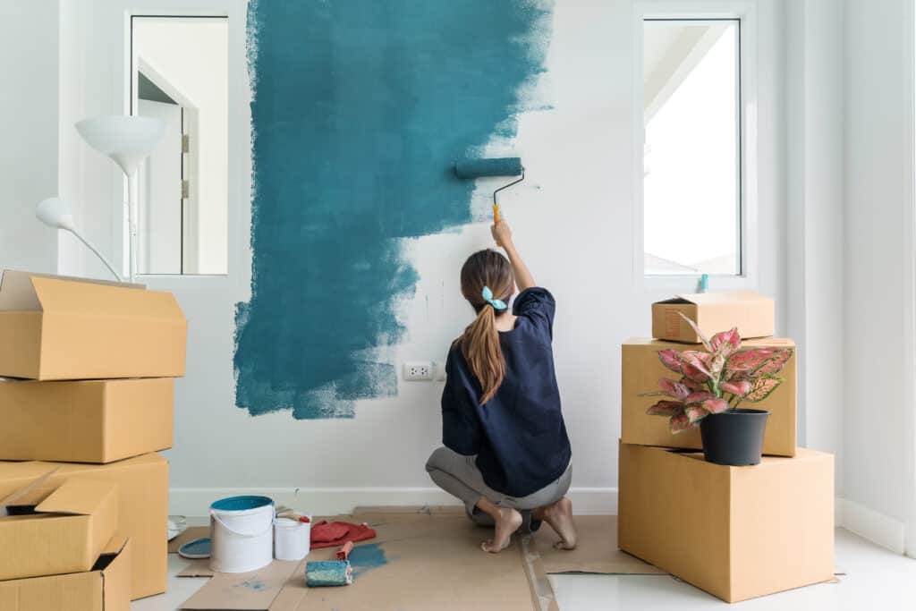 Professional painters are not cheap, and people are always looking for someone who will show up, and do a reasonable job. It's possible to easily make $100 a day painting rooms.