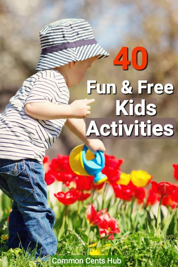 There are plenty of kids activities they'll love that don't cost anything