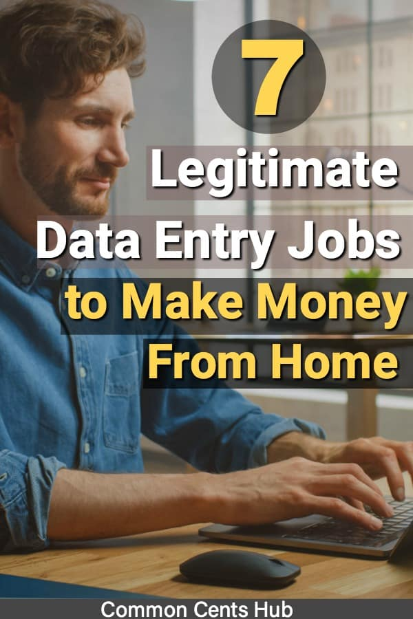 legit data entry jobs to make money from home