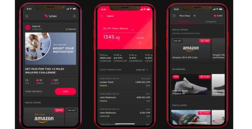 Lympo is a unique way to get paid for walking because you'll encounter a new challenge almost every day.
