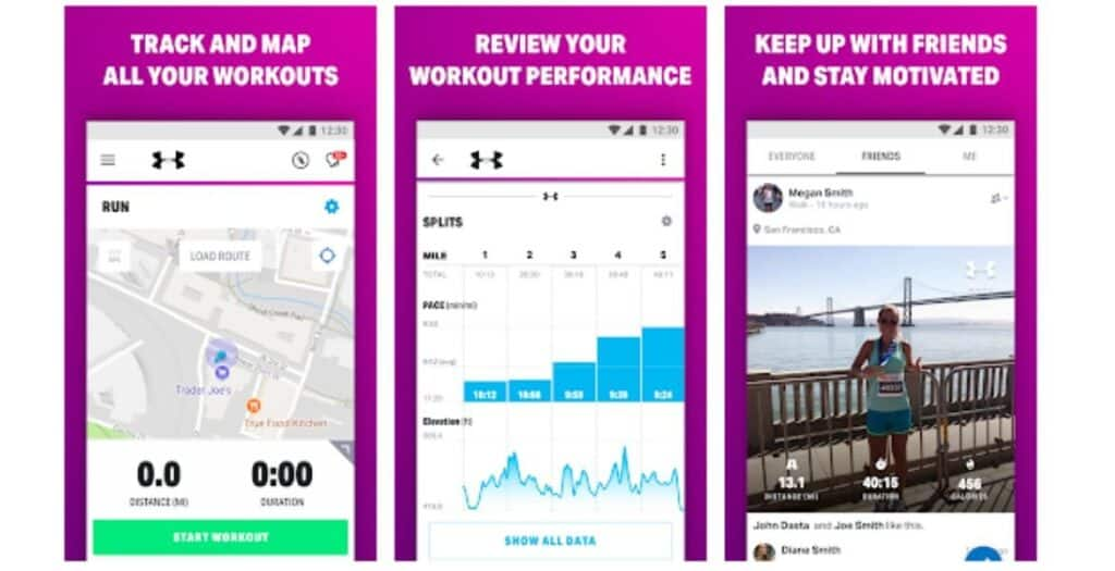 You can not only map your walk, you can get paid to walk with the Map My Fitness apps.