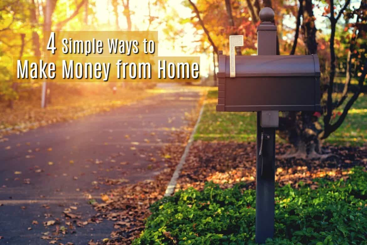 Some of the most flexible ways to make money from home are by doing online surveys on your own schedule.