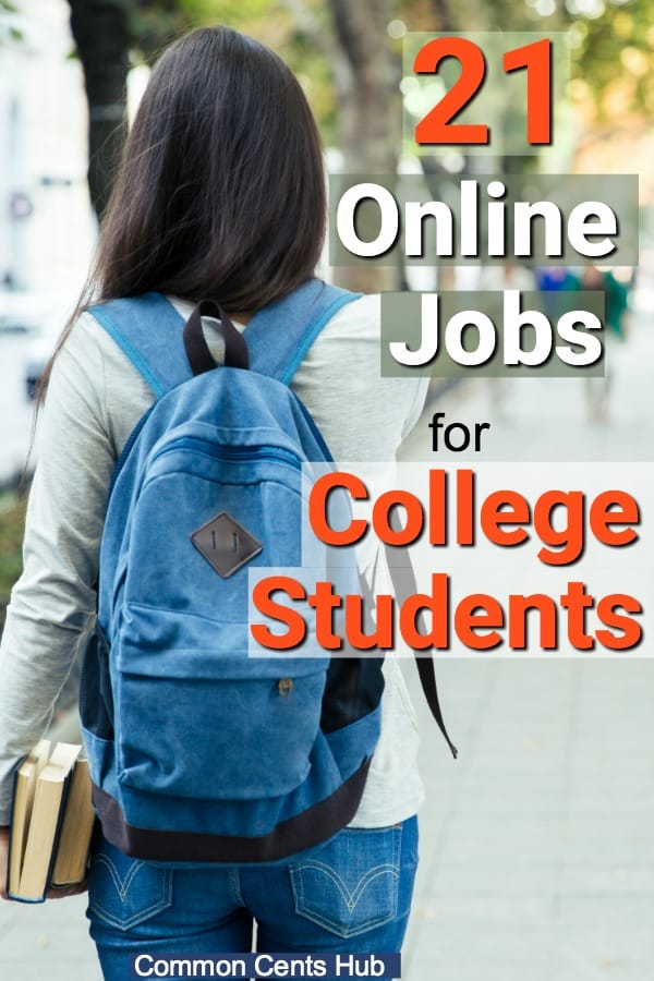 Online jobs for college students have two great benefits. They enable you to earn money in college while making the best use of your time, and give you a chance to graduate with the least amount of debt possible.
