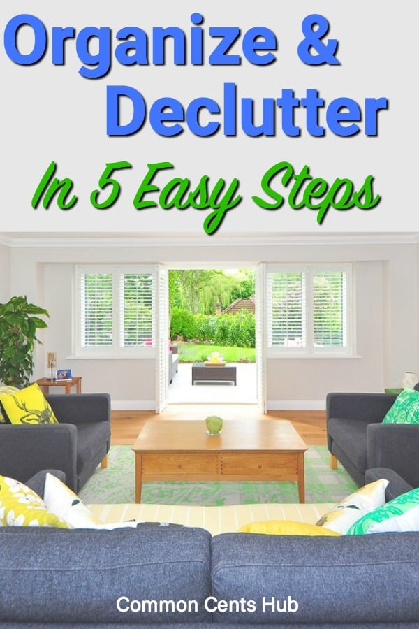 By using this simple process to organize and declutter, you'll reduce stress and raise your quality of life at home.