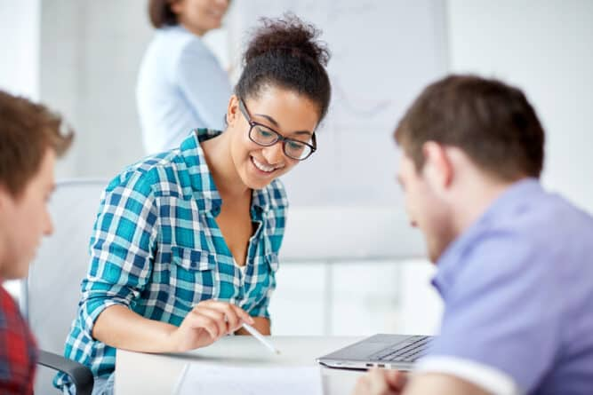 Tutoring is a great way for college students to earn money because it's flexible hours and very good pay.