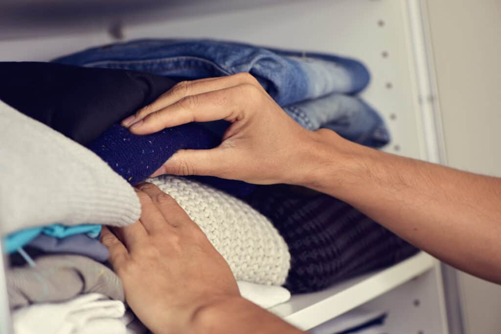 When you follow the KonMari order, you'll progress from the easier categories to the harder ones.