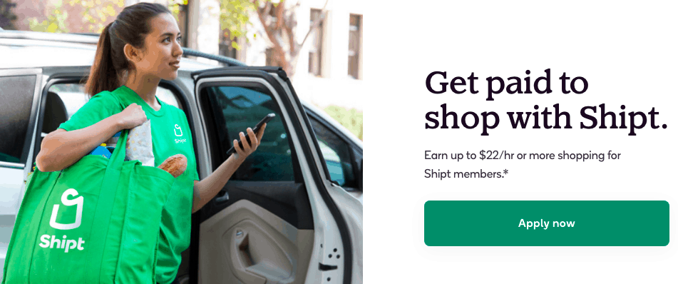 Shipt is one of the food delivery jobs that enable you to make quick money. It's a simple signup process, and a very easy to use food delivery app.
