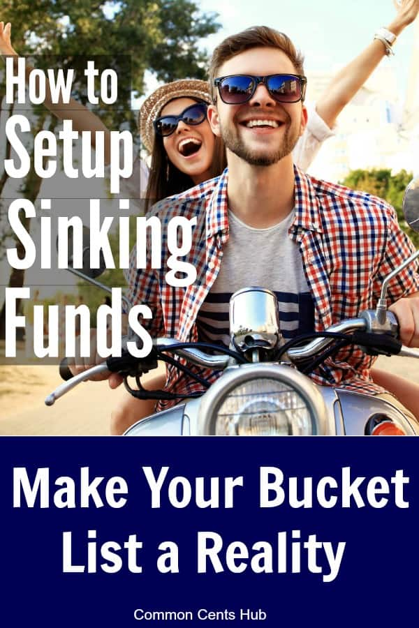 Knowing how to use sinking funds can help you to finally manage expenses efficiently. Sinking funds are easy to setup, and they can also help you to pay cash for the things you want.